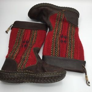 Born Wool & Leather Boots